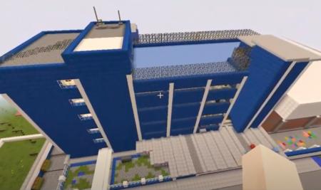 Nossa escola no Minecraft