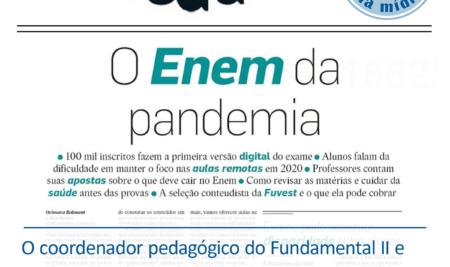 O Enem da pandemia